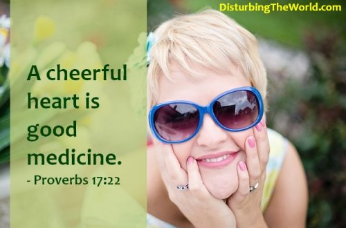 a cheerful heart does good like a medicine